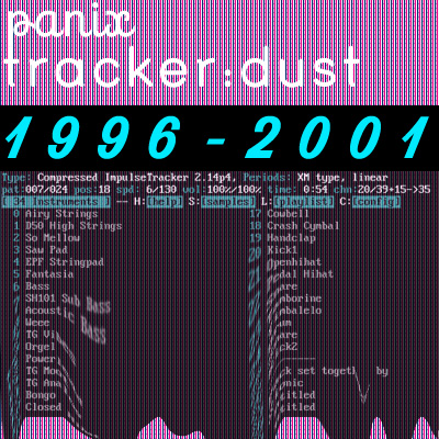 Tracker Dust 96 01 Vol 1